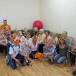 Italų savanorių darbas Svėdasų senelių globos namuose
